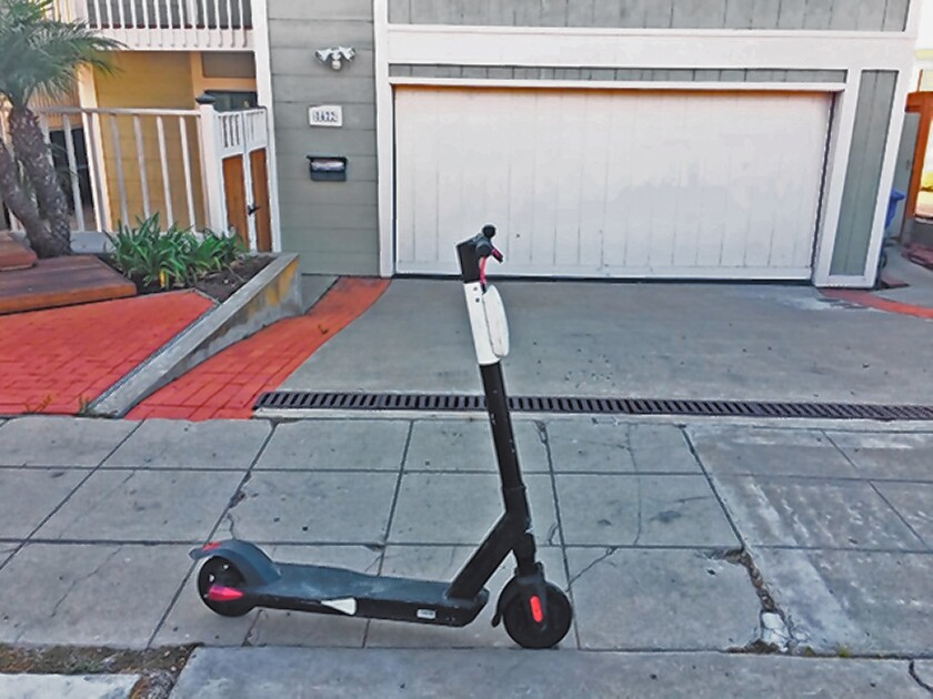 Scooter blocking driveway IMG_6676 La Jolla-jpg.jpg