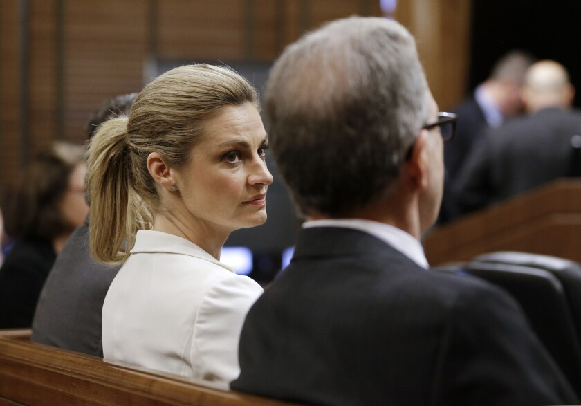 Erin Andrews in court