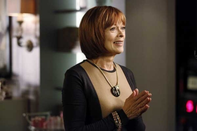 """Frances Fisher guest stars in a new episode of """"Castle"""" on ABC."""