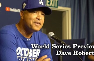 Dave Roberts discusses World Series preparation