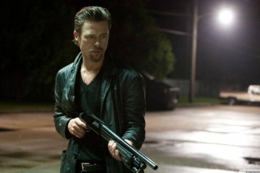 """Brad Pitt in """"Killing Them Softly."""""""