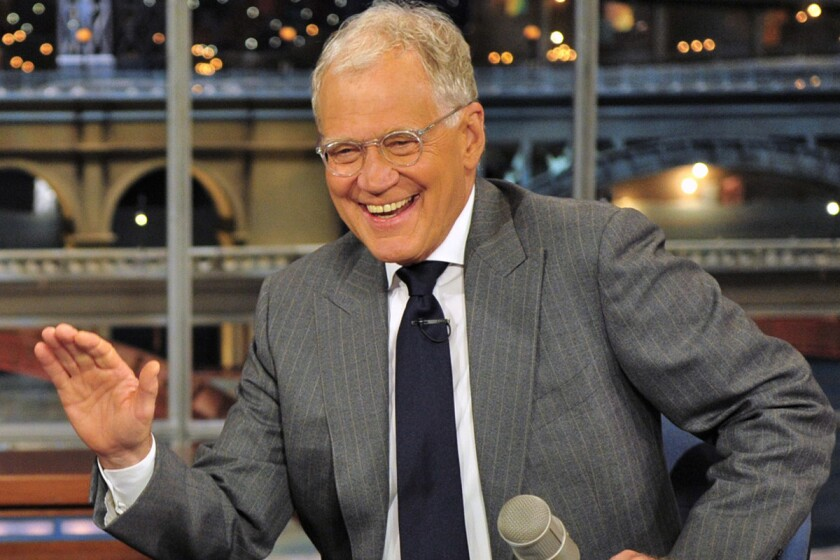 David Letterman retires: A brief history of the Top Ten List - Los ...