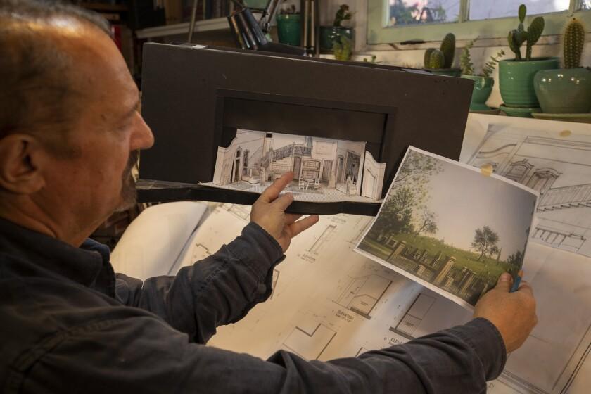 John Iacovelli, scenic designer