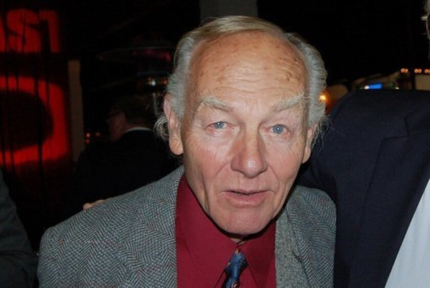 Vista-based actor Jonathan McMurtry will be honored for his many decades of achievement on Feb. 5 at North Coast Repertory Theatre. U-T FILE
