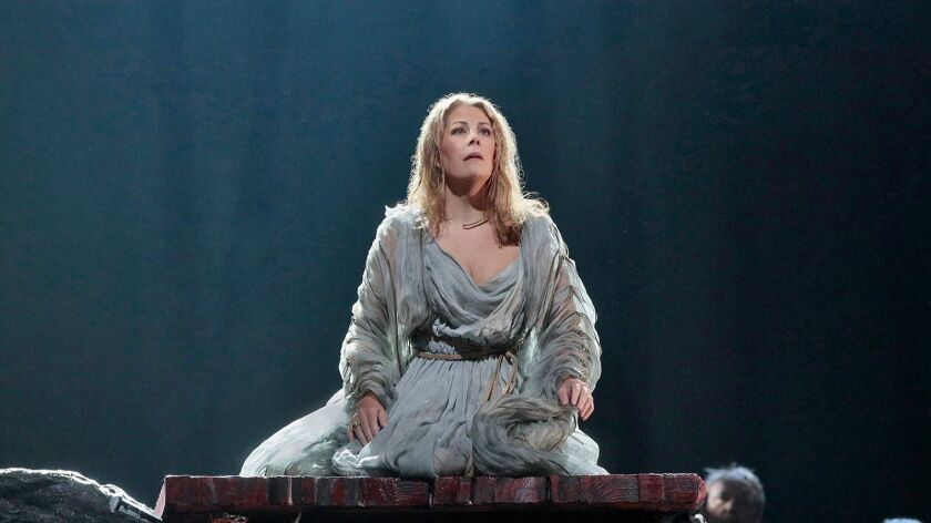 "Soprano Sondra Radvanovsky performs in the title role in Bellini's tragic opera ""Norma"" on a new ""Great Performances at the Met"" on KOCE."