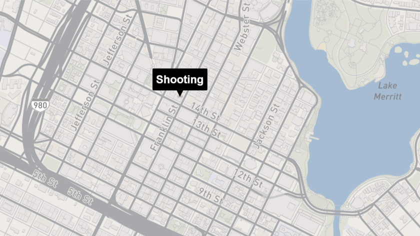Shooting in downtown Oakland