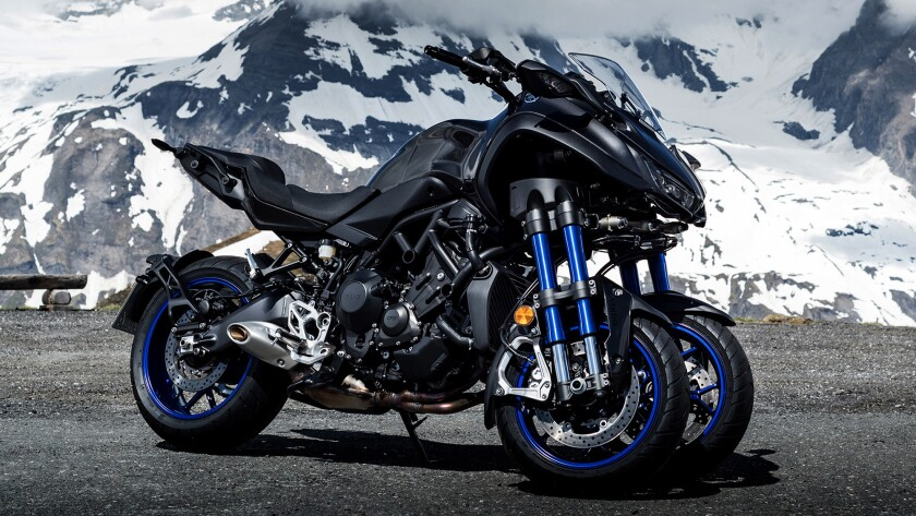 Yamaha's 3-wheel Niken is an exceptional motorcycle  Maybe too