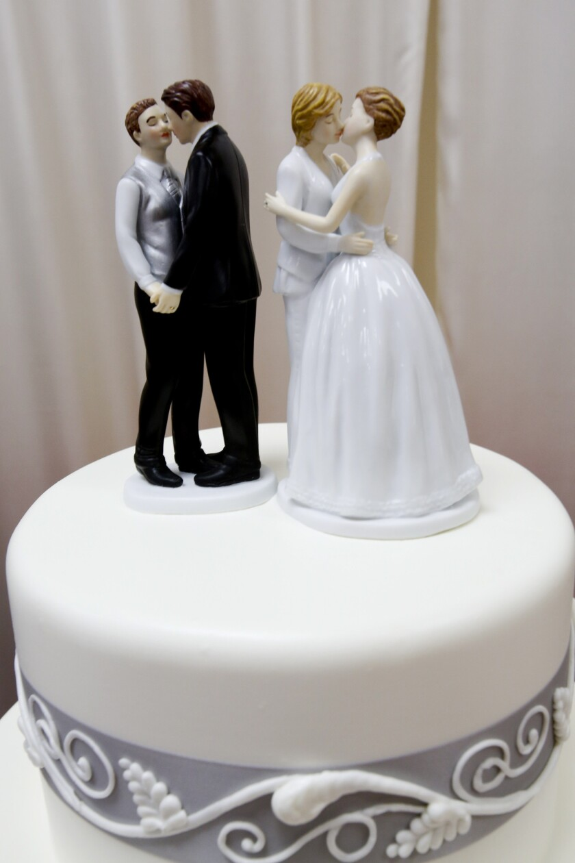 Some bakers provide wedding cakes for same-sex marriages. Others, including an Oregon bakery, have refused.