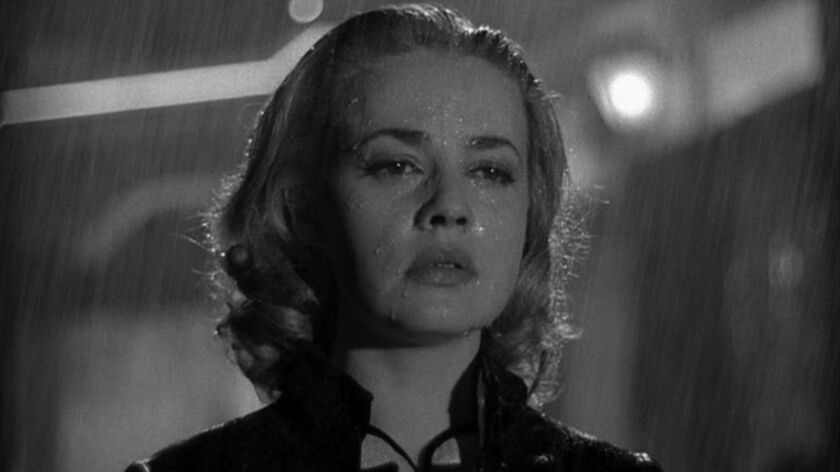 ELEVATOR TO THE GALLOWS: Louis Malle's jazzy, existential tale of a murder gone wrong features a gli
