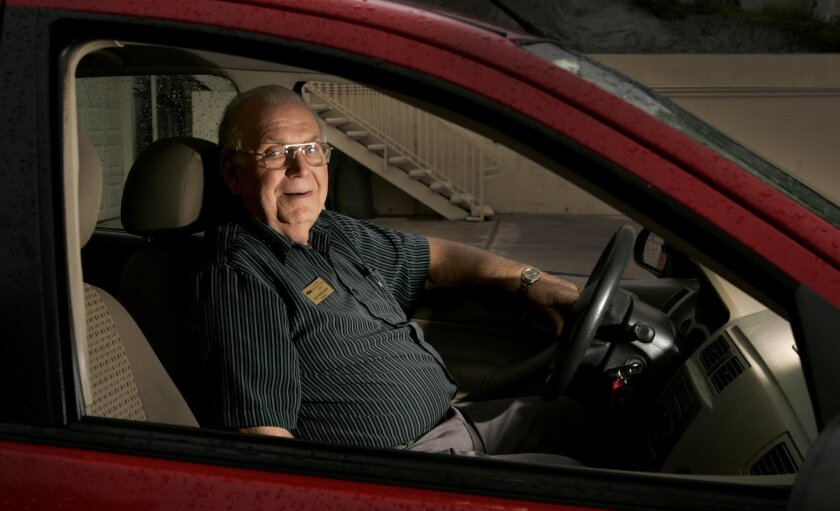 "Buck Matoushek: The owner of a La Mesa driving school finds that you can't judge senior drivers strictly by age. He flunked one 70-year-old client, but a 90-year-old student was a star. ""I'd drive across country with him,"" Matoushek said."