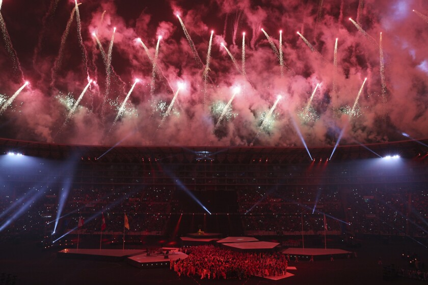 Clausura de Juegos Panamericanos