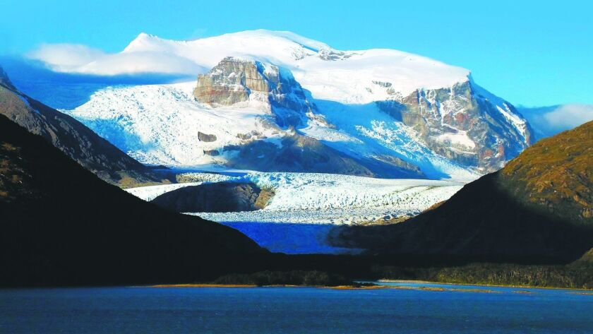The mountains and glaciers of the Chilean fiords were spectacular.