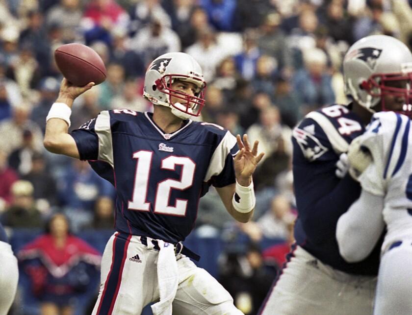 Draft History Patriots Football