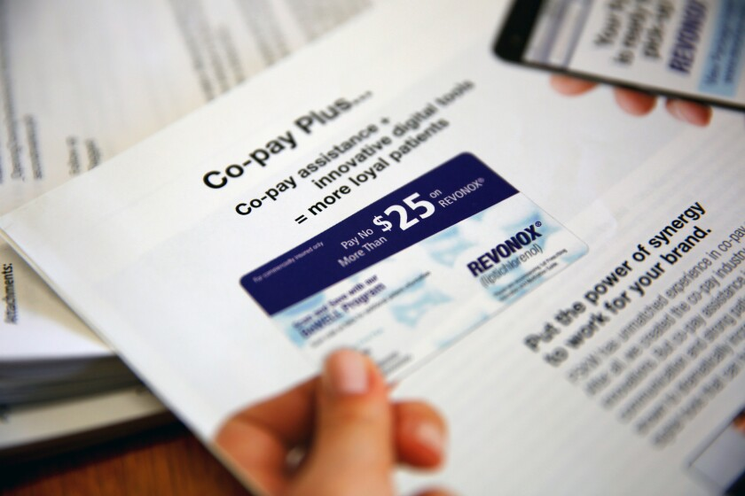 An example of a drug coupon.