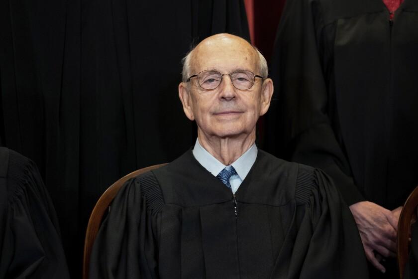 Progressive activists are pressing Supreme Court Justice Stephen G. Breyer to retire.