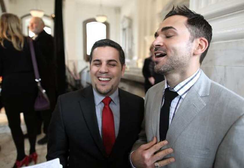Burbank couple on Supreme Court same-sex marriage review: 'This is what we've waited for'