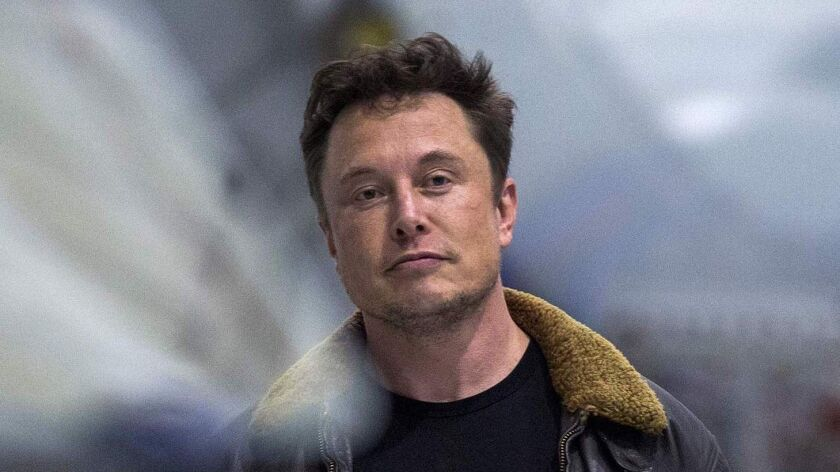 Tesla Inc. Chief Executive Elon Musk.