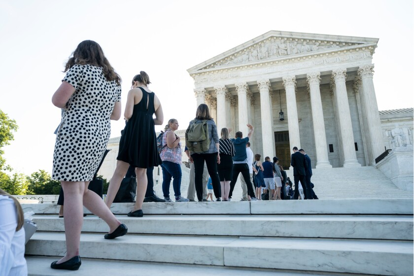 Supreme Court to rule on census, gerrymandering cases, Washington, USA - 26 Jun 2019