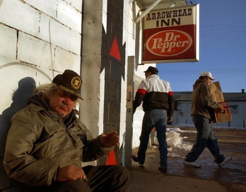 S. Dakota's Pine Ridge tribe is at 'breaking point' over alcohol