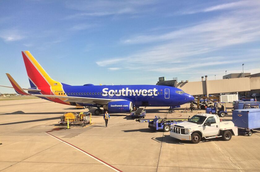 """A former Southwest Airlines employee has filed a lawsuit claiming there was a """"whites-only"""" break room at Houston's William P. Hobby Airport."""