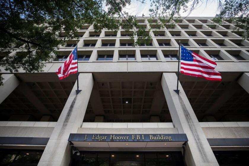 Vista del edificio J. Edgar Hoover, sede del FBI, en Washington.