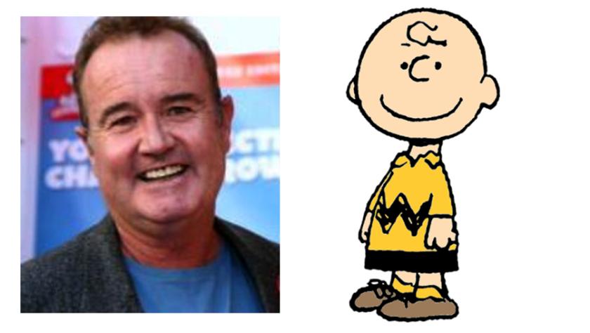 Peter Robbins and Charlie Brown