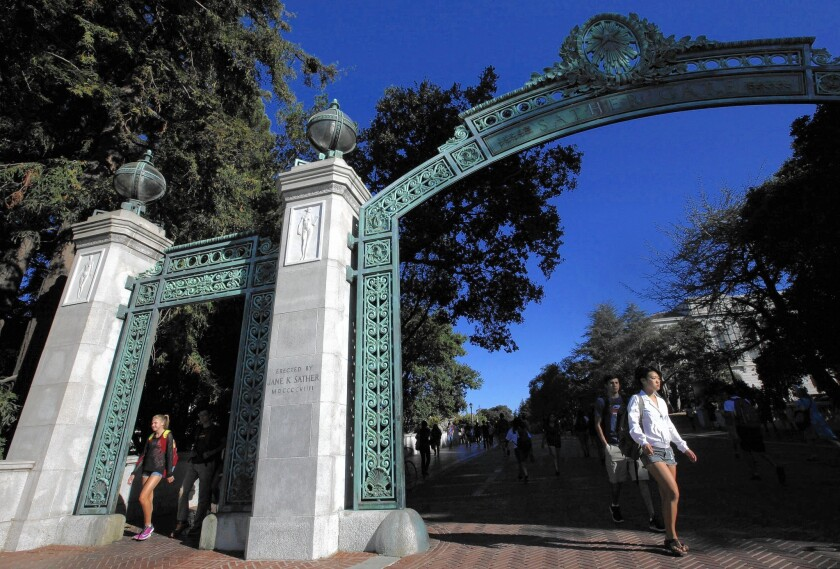UC Berkeley will ask some freshman applicants to submit letters of recommendation from teachers and mentors. The UC system is considering having all campuses do the same.