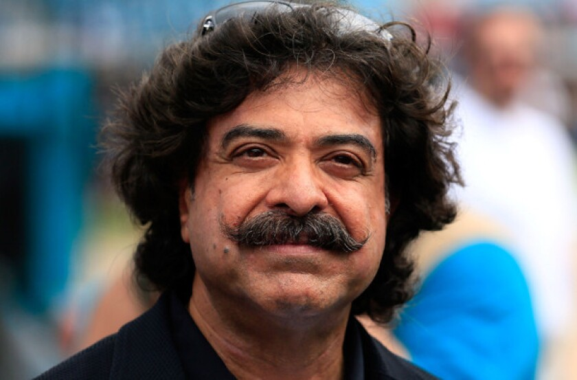 Jacksonville Jaguars owner Shad Khan, pictured in 2012, has purchased the Fulham club, which finished 12th in the 20-team English Premier League.