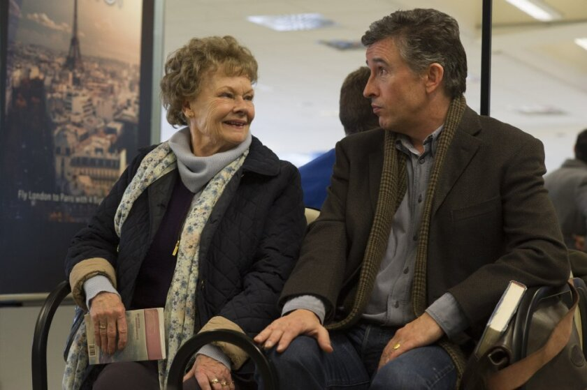 """Judi Dench and Steve Coogan star in """"Philomena."""" Will it be among the best picture nominees Thursday?"""