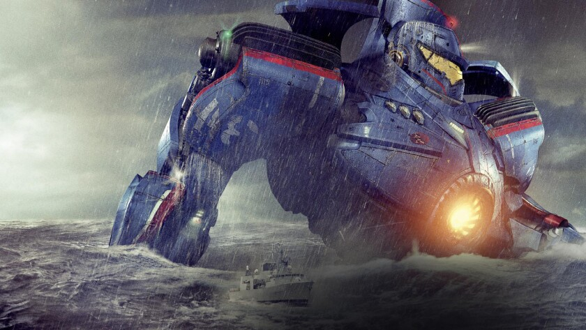 Pacific Rim 5-D combines a 3-D film with motion-based seats and water effects at Six Flags Discovery Kingdom.