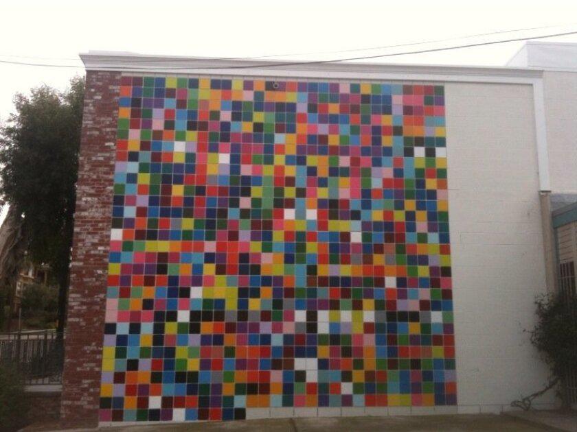 "Roy McMakin's ""Favorite Colors"" in La Jolla"