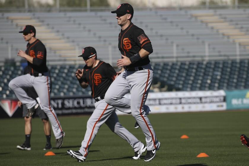 Giants Spring Baseball