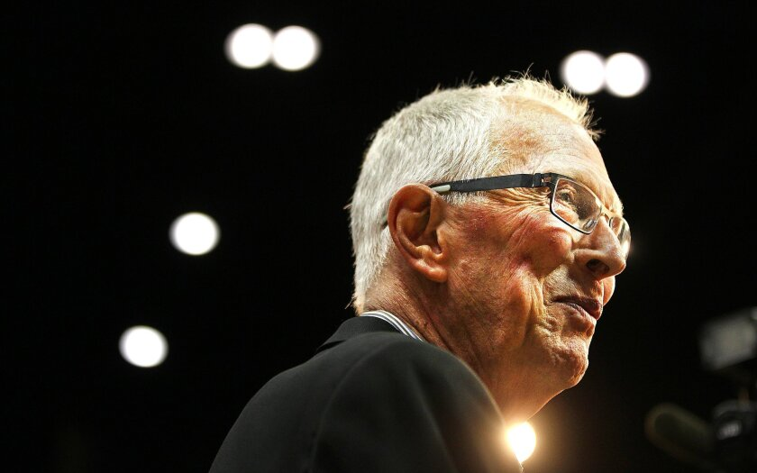 "SDSU officially named the Viejas Arena floor ""Steve Fisher Court,"" their basketball coach for the last 17 years."