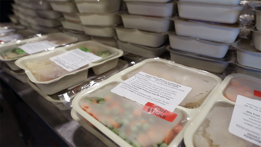 Jewish Family Service of San Diego has increased meal production from 400 to 1,600 plates per day to meet the increased need for food assistance because of COVID-19.