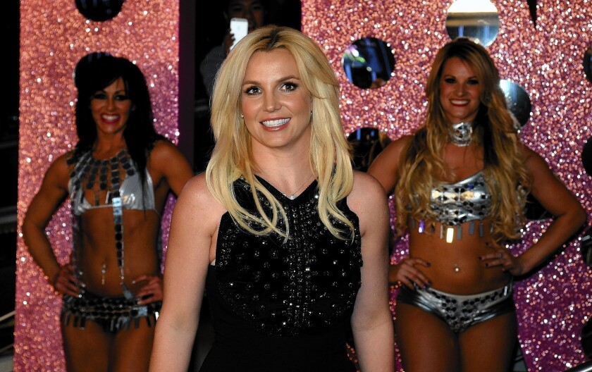 Britney Spears in 2013 at Planet Hollywood Resort & Casino in Las Vegas.
