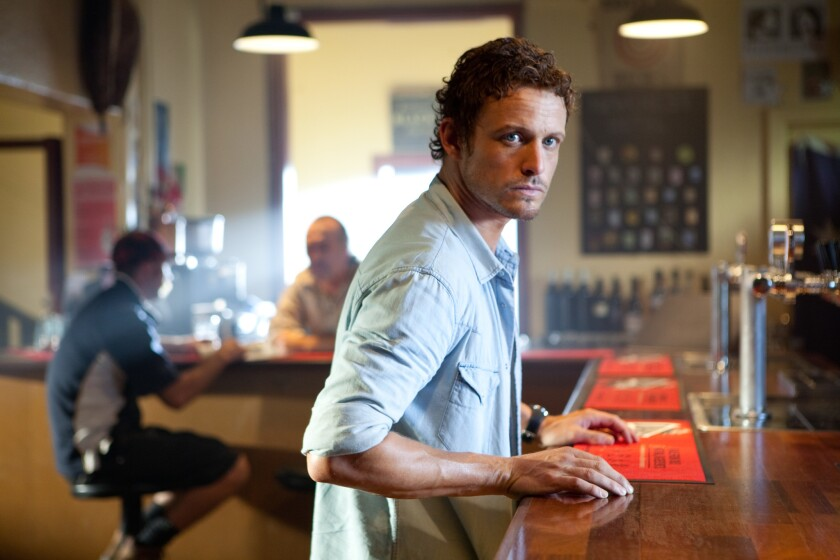 "David Lyons in ""Swerve."""