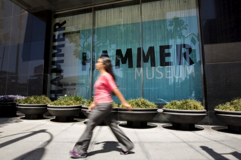 Hammer Museum to offer free admission starting Sunday