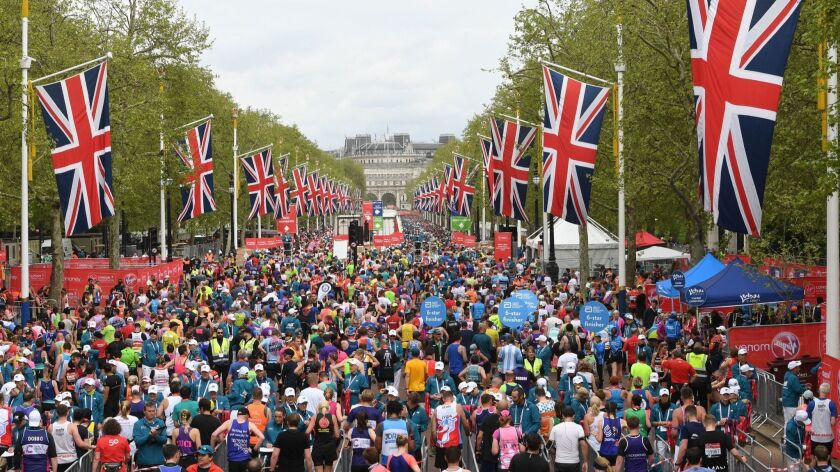 London Marathon 2019, United Kingdom - 28 Apr 2019