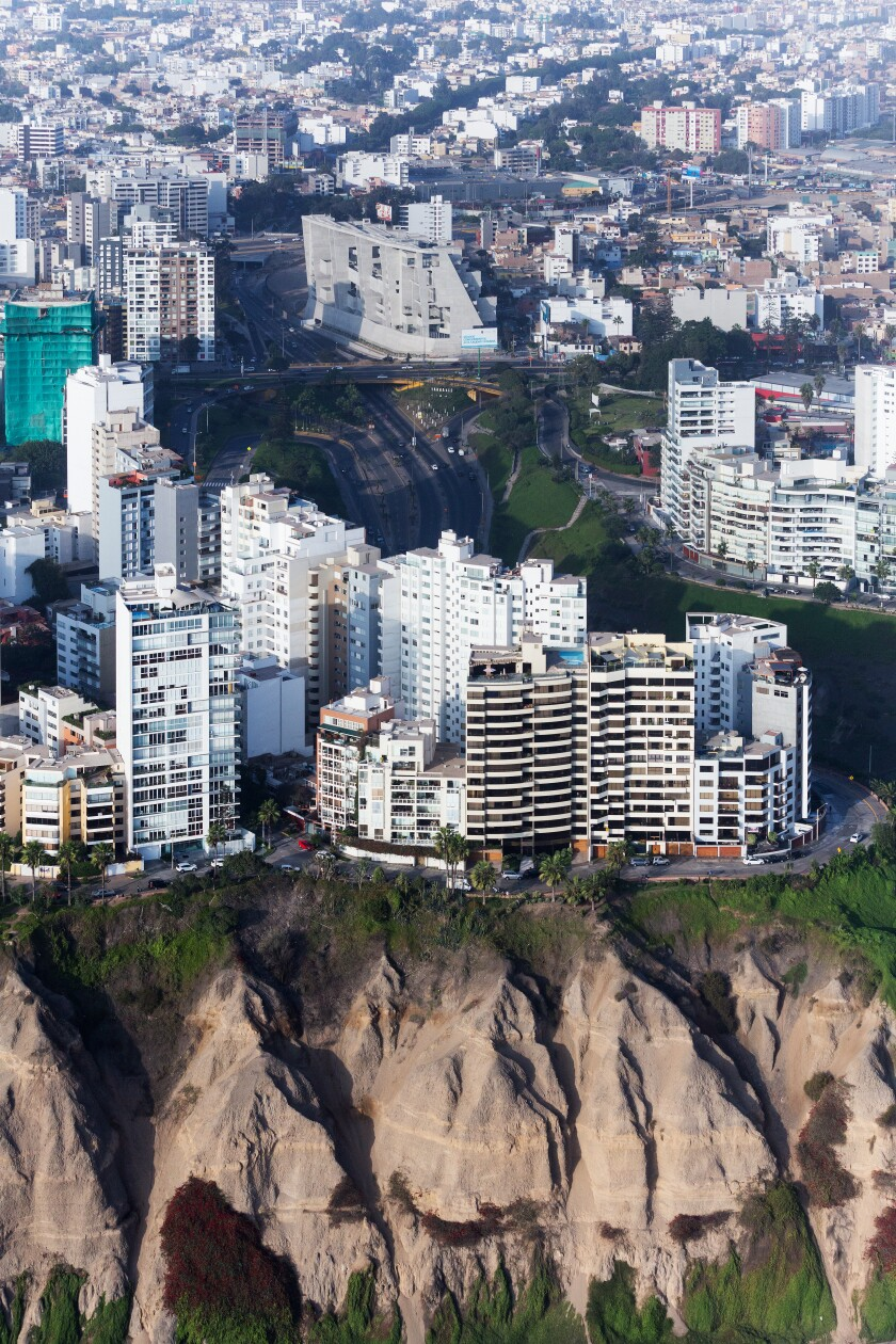 The UTEC campus in Lima designed by Grafton Architects.