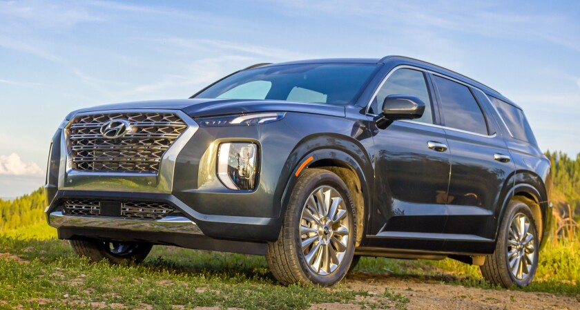 2020 Palisade starting prices range from $32,545 to $47,445 for the Limited AWD, today's tester.
