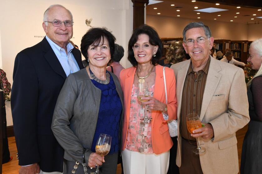 John and Margie Warner, Linda and Joe Satz