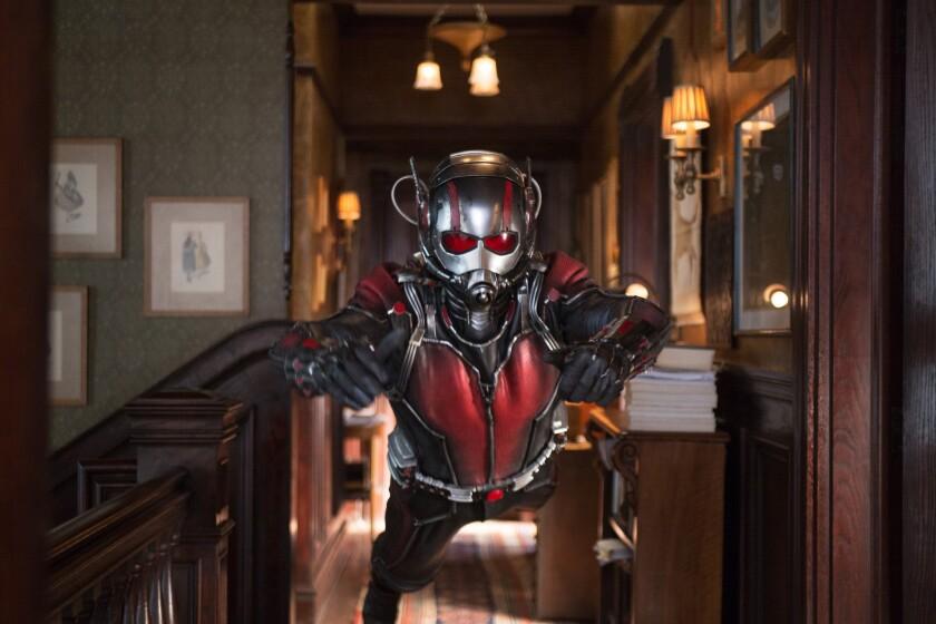 Paul Rudd es Scott Lang/Ant-Man.