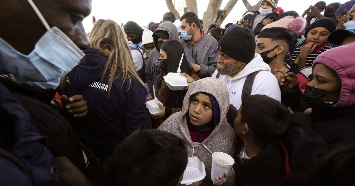 Anxiety, hope at Mexican border with new U.S. asylum process - Los Angeles Times