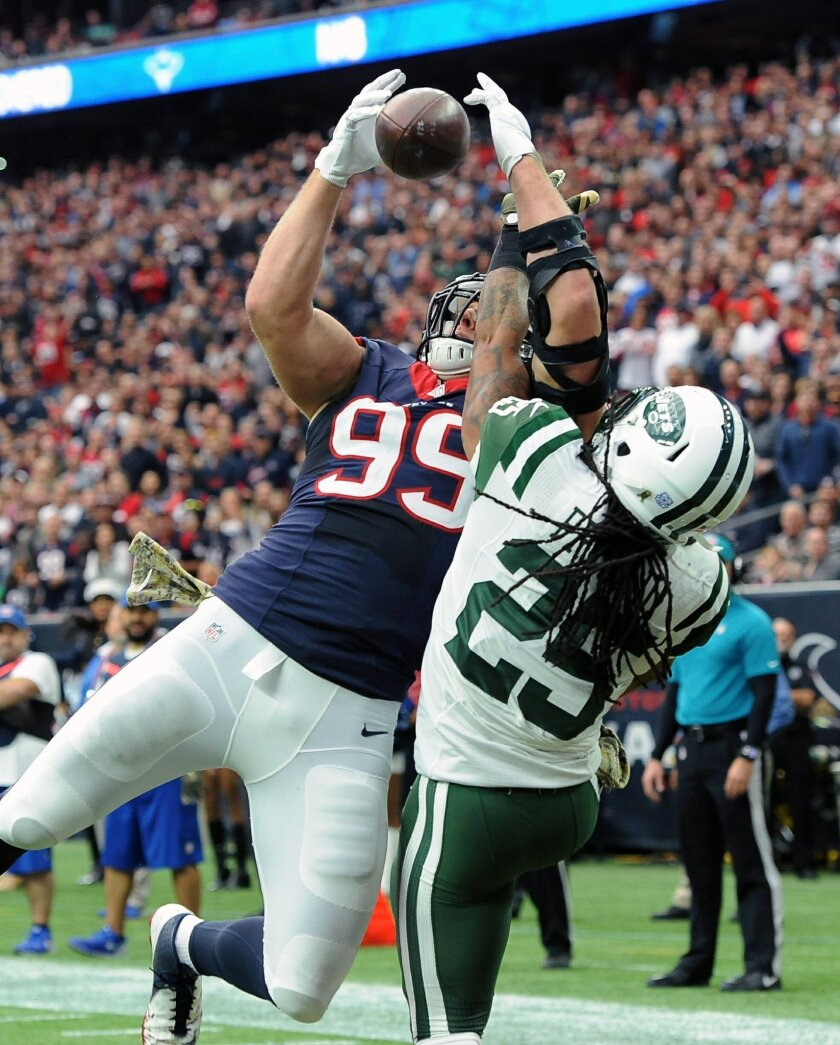 4b120be8 Houston gets 3rd straight win with 24-17 victory over Jets - The San ...