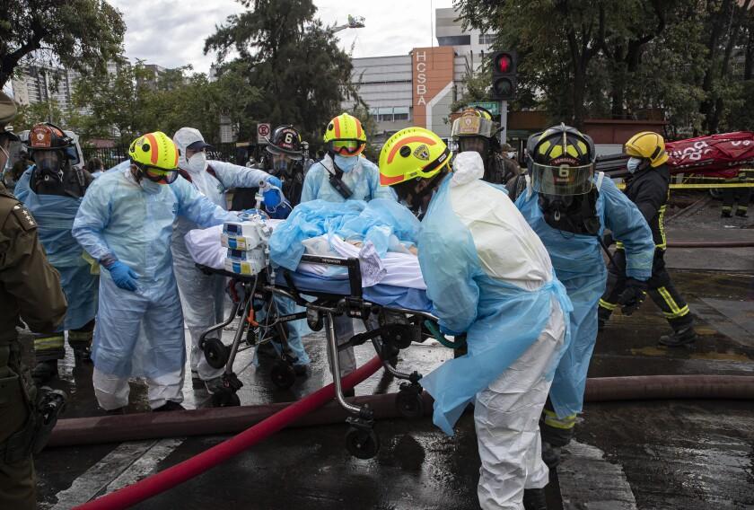 Incendio de hospital en Chile; evacúan pacientes - San Diego  Union-Tribune en Español