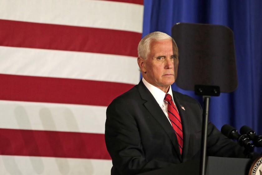 Post Crescent Halloween 2020 Pence turns up heat on Biden with Wisconsin speech   The San Diego