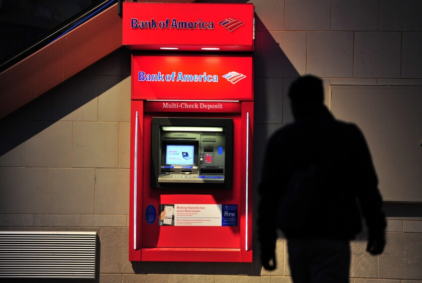 Bank of America is ranked the least popular big bank for the fourth year in a row.