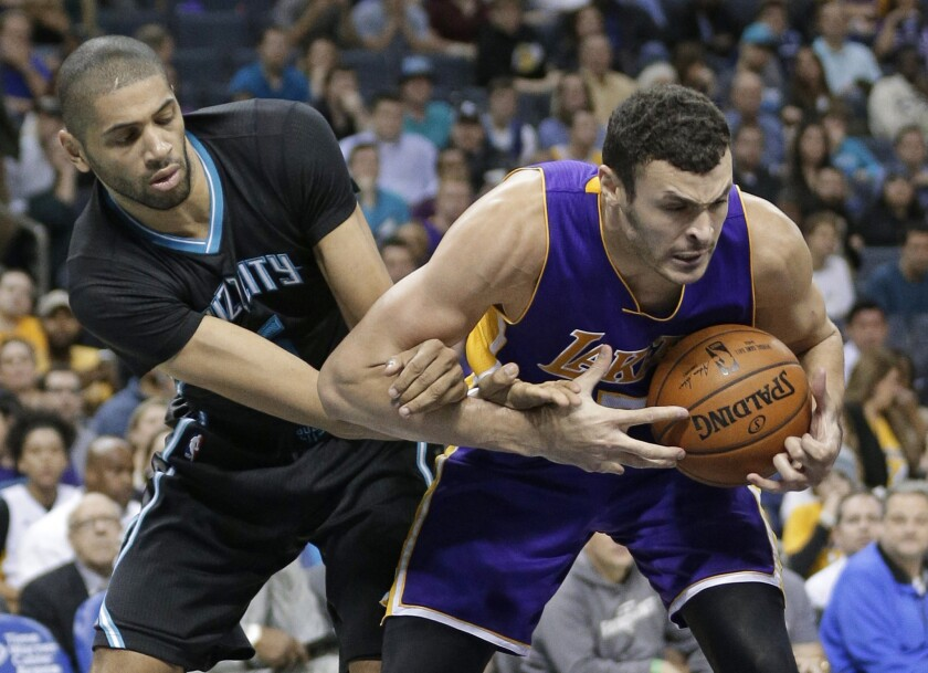 Larry Nance Jr. and Julius Randle are giving Lakers a double dose of power at forward