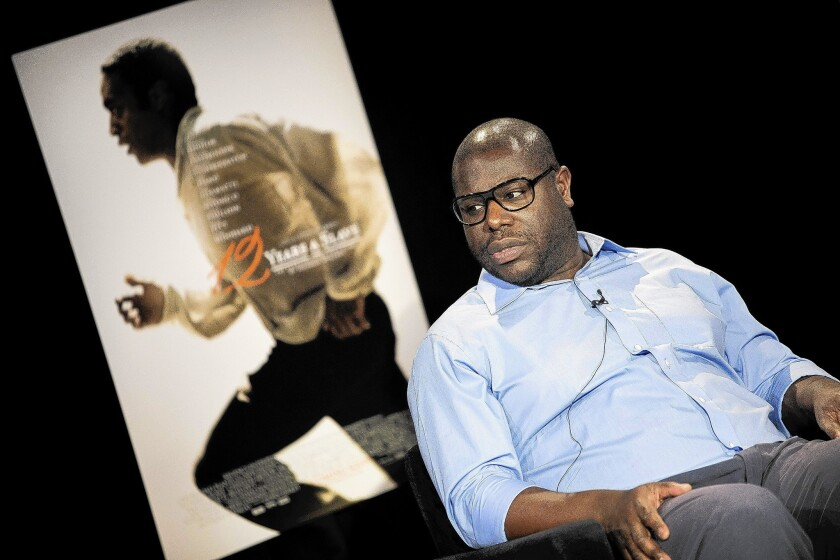 "Director Steve McQueen has been a tireless promoter of his film ""!2 Years a Slave."""
