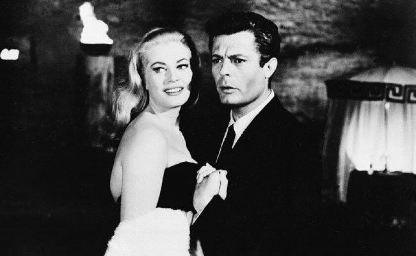 "Still from Federico Fellini's ""La Dolce Vita,"" winner of the Palme d'Or at the 1960 Cannes Film Festival."